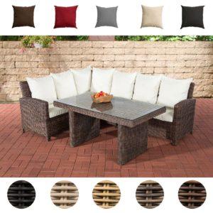 Rattan Gartenmöbel Set - Rattanfarben & Bezugsfarben